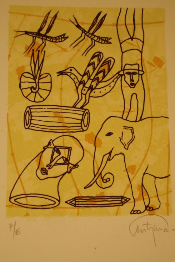 Lithograph from 2005