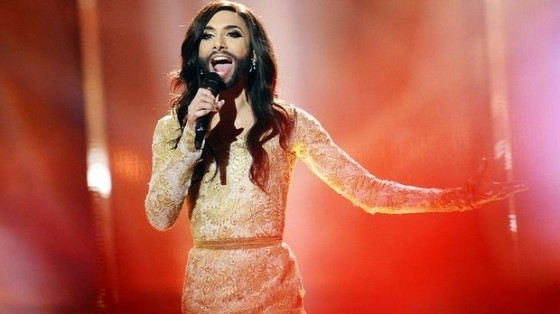 Conchita Wurst Photo from AFP