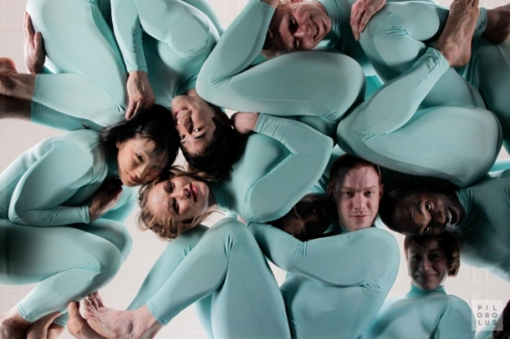 Pilobolus--OKGO collaboration